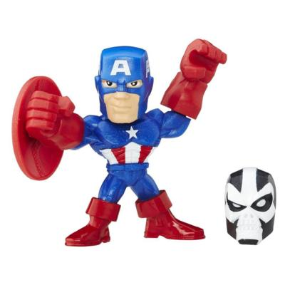 Marvel Super Hero Mashers Micro -  Captain America Action Figure