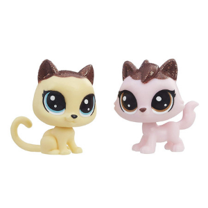 Littlest Pet Shop Frosting Frenzy BFF'S | Cats 2 Pack