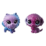 Littlest Pet Shop Cosmic Pounce BFF'S - Dogs 2 Pack