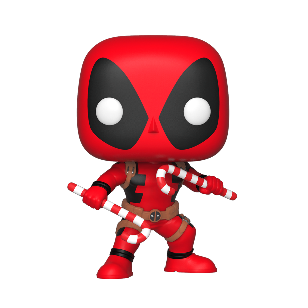 Marvel Holiday Deadpool with Candy Canes Pop! Vinyl Figure #400