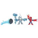 Marvel Super Hero Mashers Micro - Spider-Man vs Marvel's Rhino 2 Pack